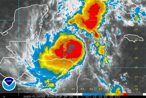 "Tormenta Tropical ""Paula"""